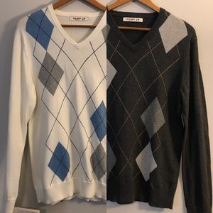 <Old Navy> Argyle Sweater Bundle
